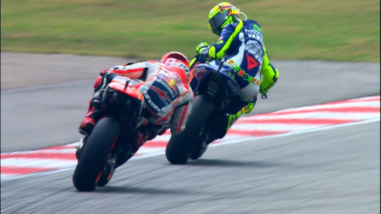 MotoGP Historic Battles -- Rossi vs Stoner Laguna Seca 08' - MotoGP