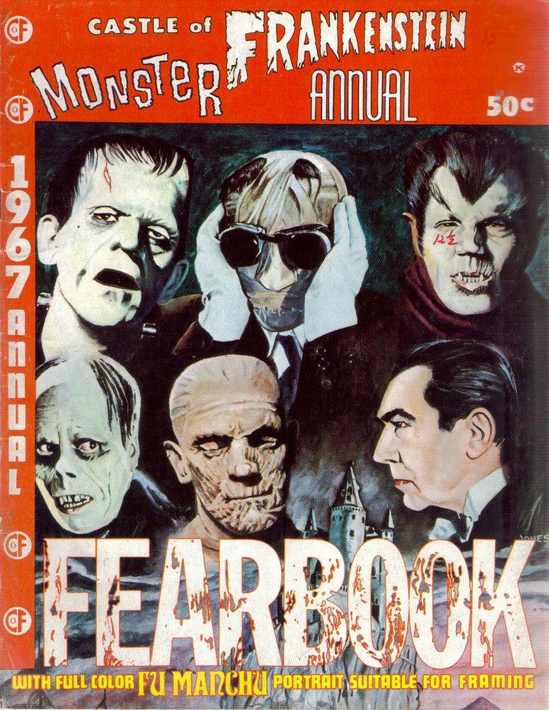 Castle Of Frankenstein, Monster Annual (1967)Cover Art by Russ Jones