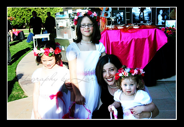 Me and my flower girls