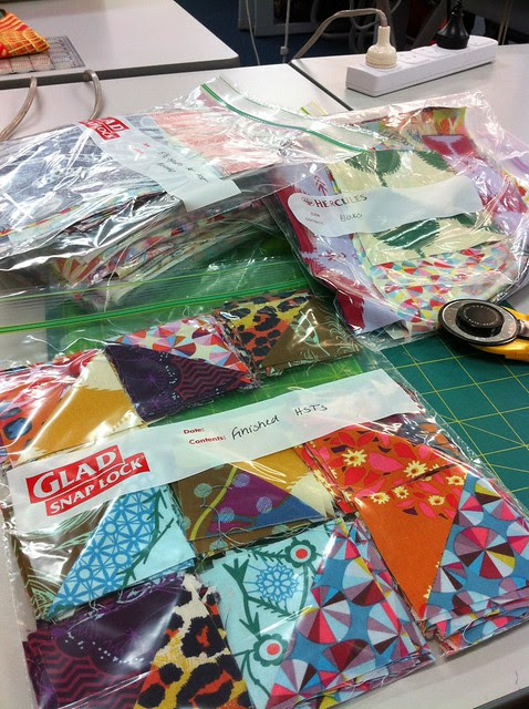 Jenny Bowker Shimmering Triangles class
