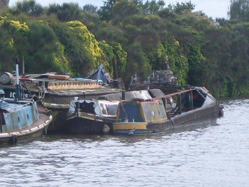 Derelict Barges
