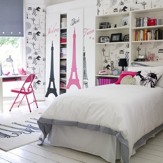 Go for a chic city theme | Teenage girls' bedroom ideas - 10 of ...
