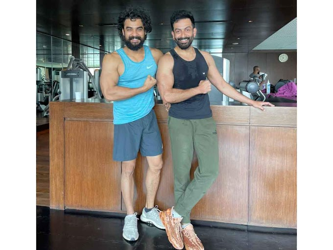 Prithviraj and Tovino hit the gym together and the photos could break the internet - Times of India