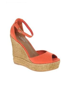 Image 1 ofALDO Lovin Espadrille Wedge Sandals