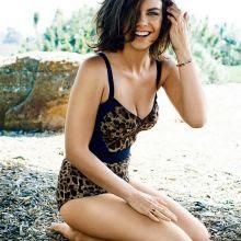 beauty celebrity: Lauren Cohan hot photo shoot for GQ 2014