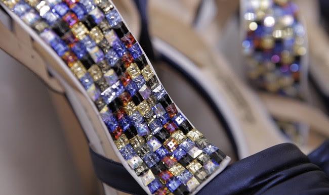 4 - Rodarte shoes backstage closeup
