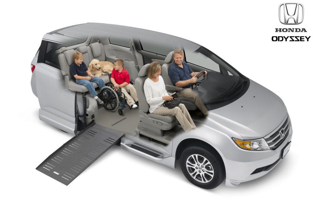 Honda Odyssey Side Entry Wheelchair Van Drive Master