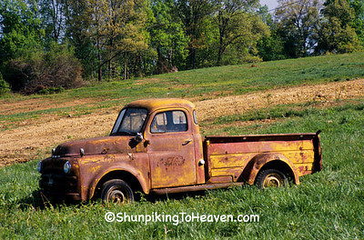 Rusty Old Coca Cola Truck, Barren County, Kentucky