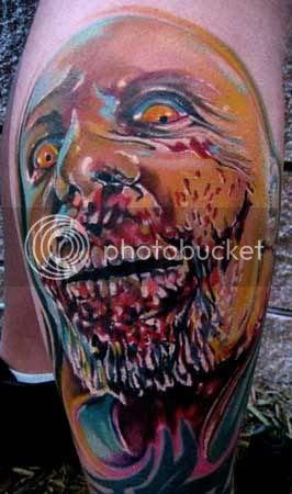 mike demasi zombie tattoo