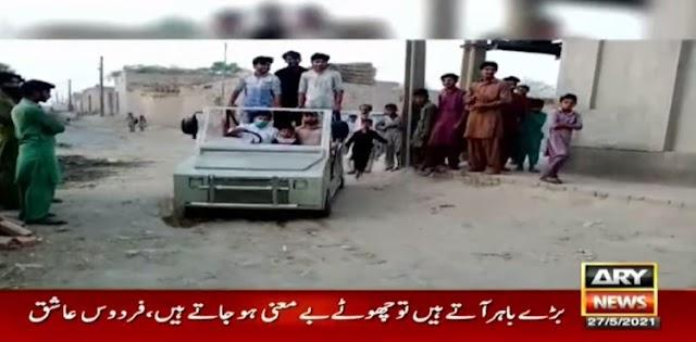 Punjab welder makes vehicle in just Rs50,000