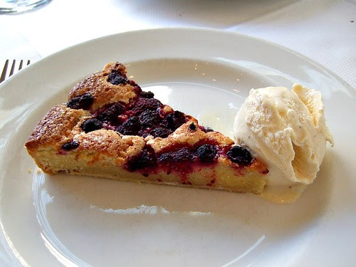 The Allotment raspberry almond tart