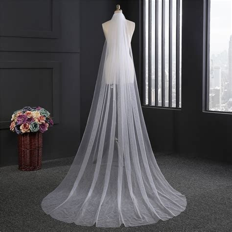 Cheap Wedding Wedding veil with Comb Lady Hot Sale