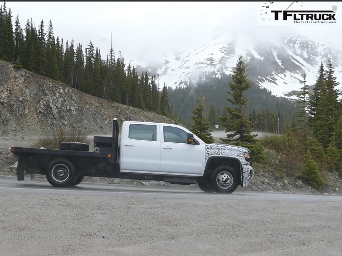 Video: New 2017 Duramax Spotted. Hear It Run.  Diesel Army