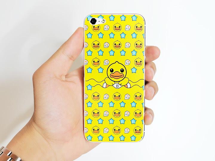 cute duck iphone sticker