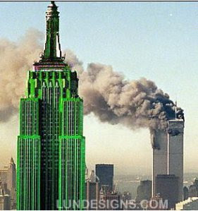 green-empire-state-building