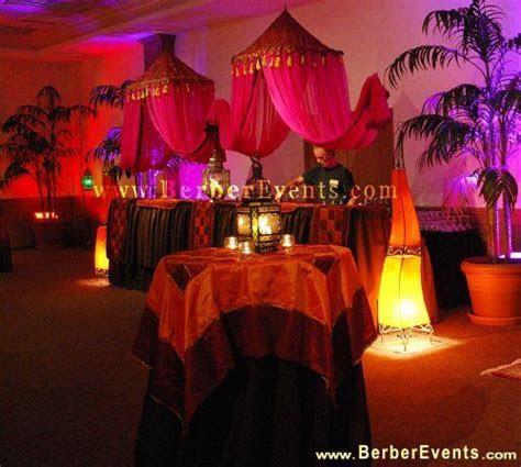 Debutante Goes Arabian Nights & Moroccan Theme at Michael