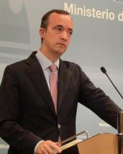 El secretario de Estado de Seguridad, Francisco Martínez Vázquez. EFE