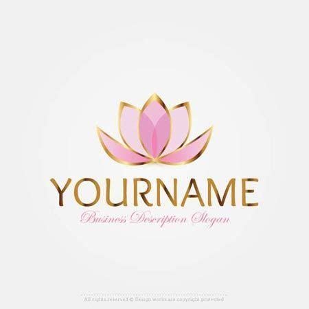 Make Lotus Flower logo Online with Our Free Logo Design Maker