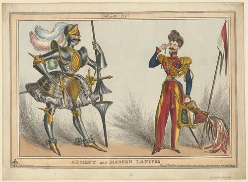 Ancient and Modern Lancers (William Heath, 1830)