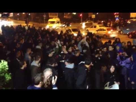 VIDEO Protest la Suceava, joi, 5 noiembrie 2015