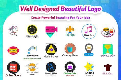 pembuat logo desain logo generator apk  gratis