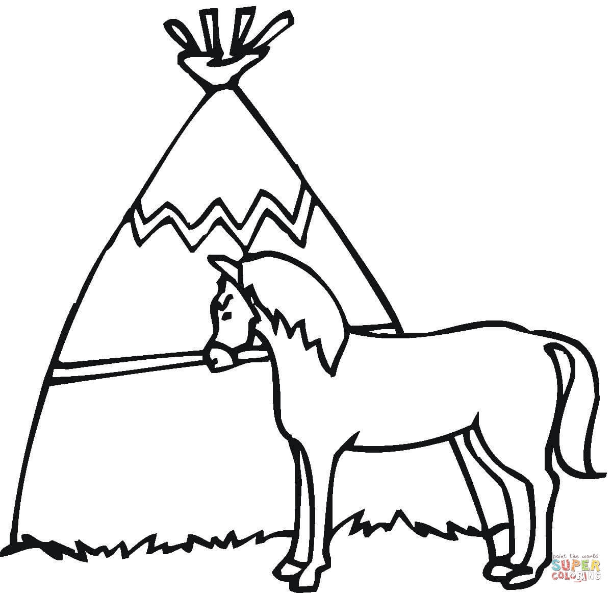 Luxe Kleurplaat Cowboy En Paard Krijg Duizenden