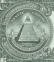 English: Novus Ordo Seculorum (1 US$) Illumina...