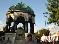Kaiser Wilhelm Fountain, Istanbul, Turkey