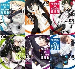 Aoharu X Machinegun Manga