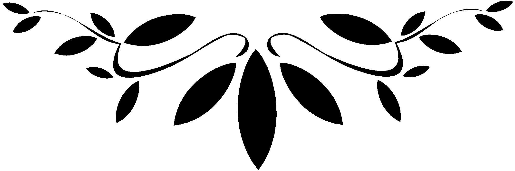 Pictures Of Simple Leaf Design Black And White Kidskunstinfo
