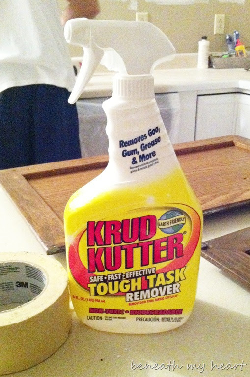 Painting our Kitchen Cabinets (Supplies and Process ...