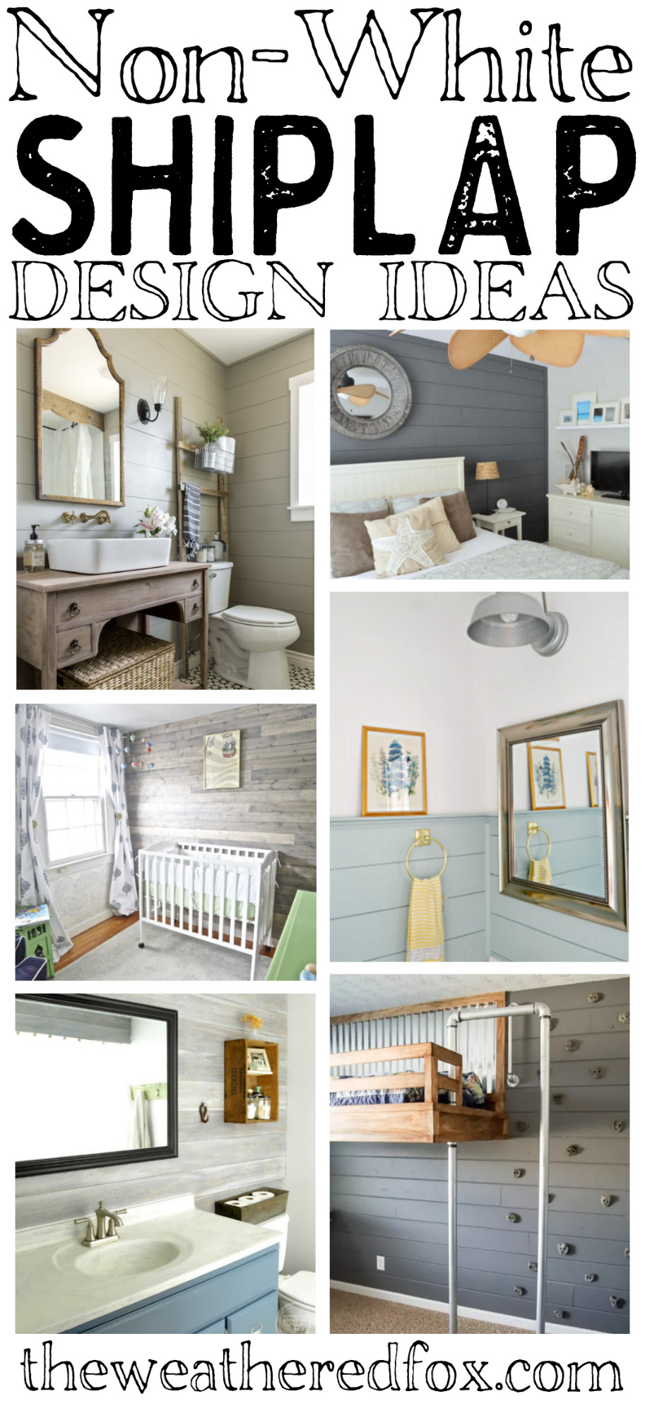 Awesome Non White Shiplap Decorating Ideas That Work With Any Style