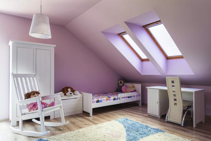 Kinderzimmer Mit Dachschräge | 1001+ Ideen Zum Thema ...