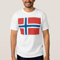 Norwegian Flag Tee Shirts