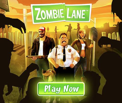 Zombie Lane Facebook Games