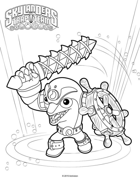 coloring pages skylanders swap force | Ausmalen, Ausmalbilder ... | 768x595