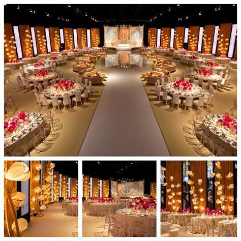 17 Mindblowing Luxurious Wedding Reception Decor by Design