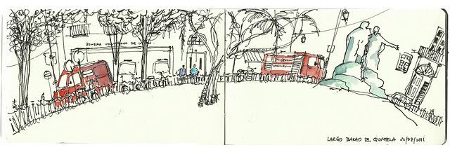 Urban Enthography Workshop @ Largo Barao de Quintela