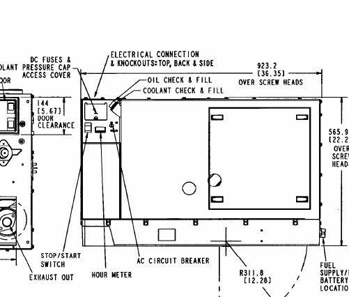 Generator Onan Wiring Circuit Diagram