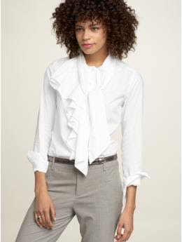 Gap Cascade tie neck blouse