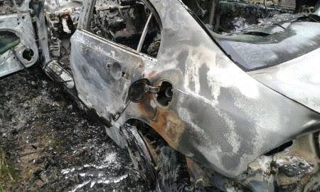 Tampa do tanque não foi encontrada no veículo (Foto: Ubatã Notícias)