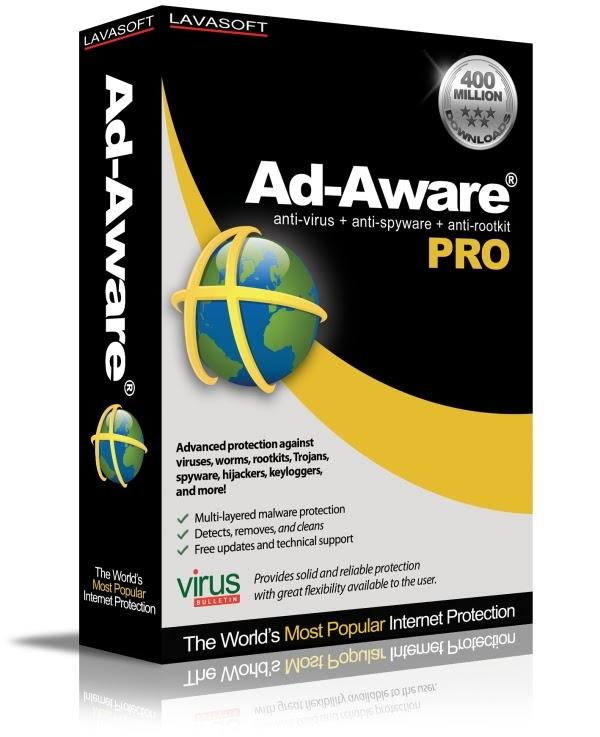 Lavasoft Ad-Aware Pro Internet Security 2010 v8.1.4 Final - Multilenguaje - Full