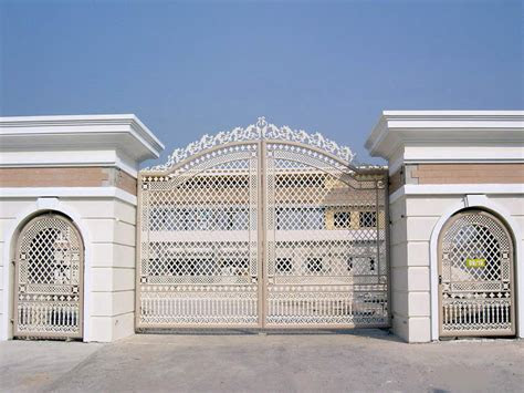 iron gates design gallery  images kerala home design