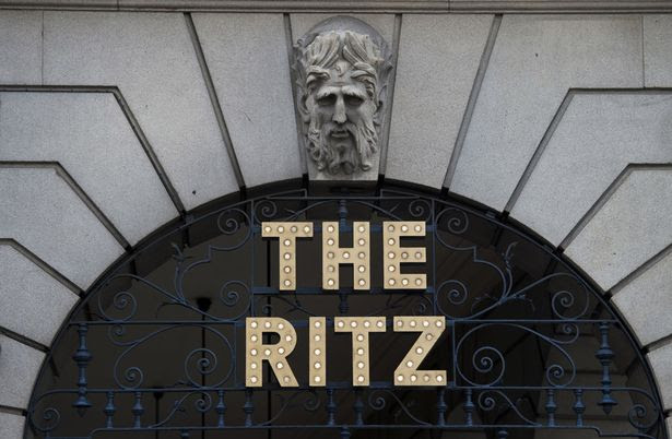 Ritz Hotel in central London