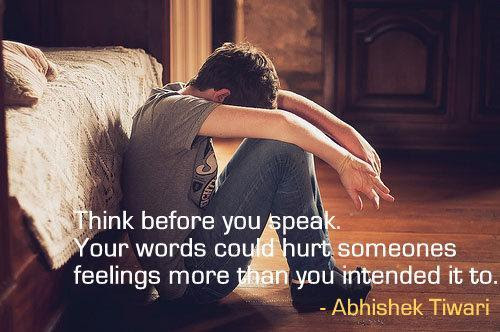 Your Words Hurt Me Quotes Quotations Sayings 2019