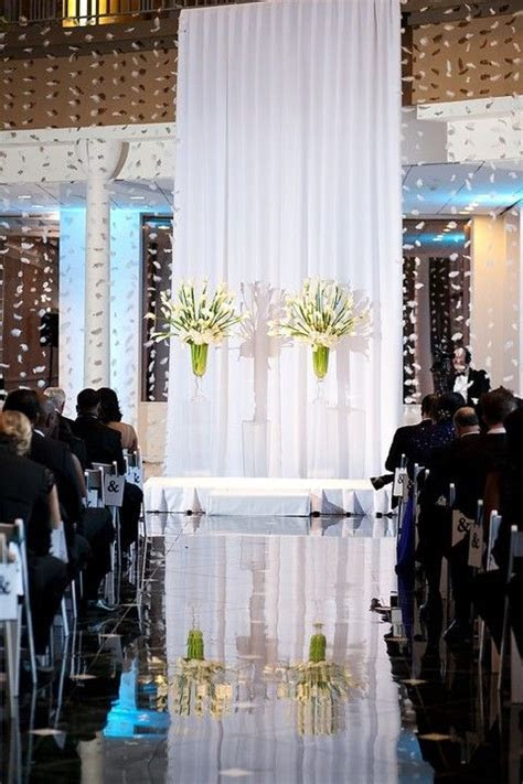 49 best images about Indoor Wedding Ceremony Backdrops on