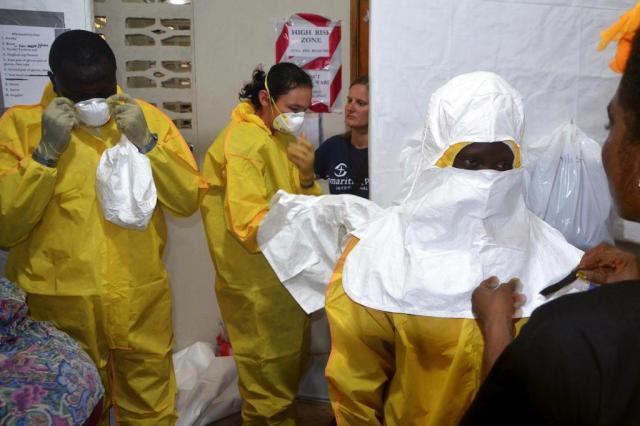 Ministério da Saúde desmente boatos sobre ebola no Brasil  ZOOM DOSSO/AFP