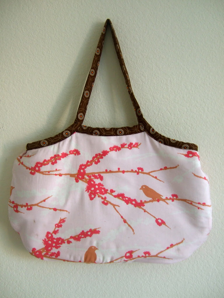 last spring handmade bag