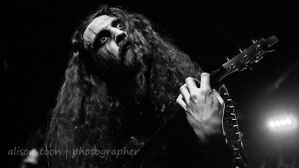 Richard Shaw, guitar, Cradle of Filth