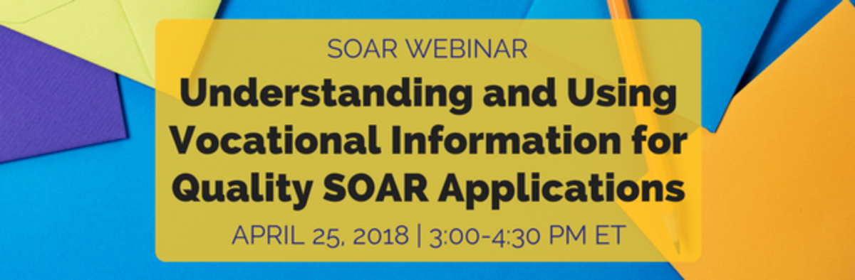 Understanding and Using Vocational Information for Quality SOAR Application